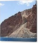 Lanais Coastline Cliffs Canvas Print