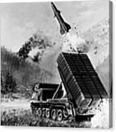 Lance Missile, C1980 Canvas Print