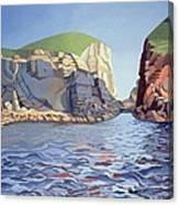 Land And Sea No I - Ramsey Island Canvas Print