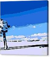 Land Battle 2 Canvas Print