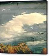 Land Meets Sky Canvas Print