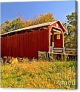 Landis Mill Covered Bridge Canvas Print