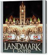 Landmark Center Winter Canvas Print