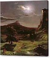Landscape - Moonlight Canvas Print