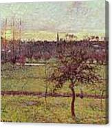 Landscape At Eragny Canvas Print