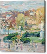 Landscape In Tours Canvas Print