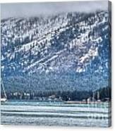 Landscape Lake Tahoe Canvas Print
