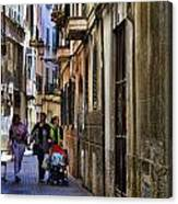Lane In Palma De Majorca Spain Canvas Print