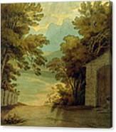 Langdale Pikes Canvas Print