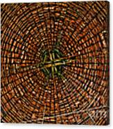 Largest Round Barn Ceiling Canvas Print