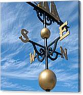 Largest Weathervane Canvas Print