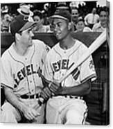 Larry Doby (1923-2003) Canvas Print