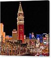 Las Vegas Canvas Panorama Canvas Print