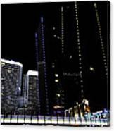 Las Vegas Walkway Canvas Print