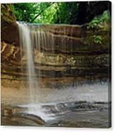 Lasalle Canyon Waterfall Canvas Print