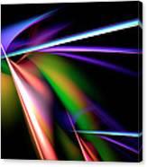 Laser Light Show Canvas Print