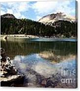 Lassen Mountain Lakes Canvas Print