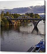 Last Light On Caveman Bridge Canvas Print