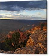 Last Rays At Grand Canyon Canvas Print