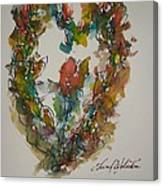 Lasting Heart My Love Canvas Print