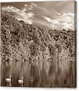 Late Afternoon At The Lake - S Canvas Print