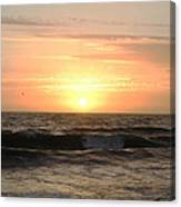 Late Summer Sunset Canvas Print