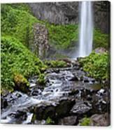 Latourell Falls - Columbia River Gorge Canvas Print