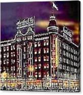 Lauerbach's Department Store In Salt Lake City Ut In 1910 Canvas Print