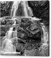 Laurel Falls In The Smoky Mountains Canvas Print