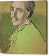 Laurence Eusden, English Poet Laureate Canvas Print