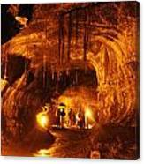 Lava Tube Canvas Print