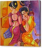 Lavani -indian Folk Dance. Canvas Print