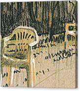 Lawn Chairs Canvas Print