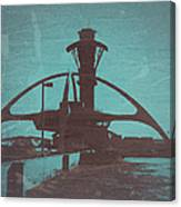 LAX Canvas Print