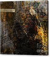 Layered Realities Abstract Composition Painting Print Canvas Print
