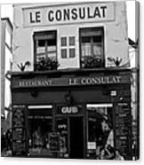 Le Consulat Canvas Print