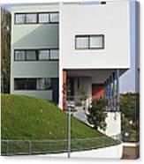 Le Corbusier Building Stuttgart Weissenhof Canvas Print