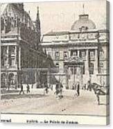 Le Palais De Justice Canvas Print