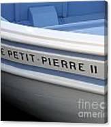 Le Petit Pierre II Canvas Print