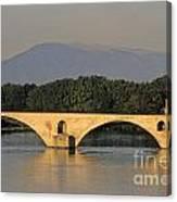 Le Pont Benezet.avignon. Provence. Canvas Print