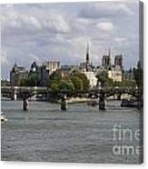Le Pont Des Arts. Paris. France Canvas Print