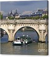 Le Pont Neuf . Paris. Canvas Print