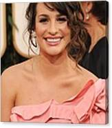 Lea Michele At Arrivals For The Canvas Print
