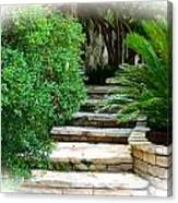 Lead Me To Your Garden Canvas Print