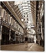 Leadenhall Market London With  Canvas Print