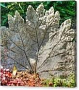 Leaf Art Canvas Print