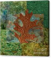 Leaf Life 01 - Green 01b2 Canvas Print