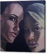 Leah And Tiffany Canvas Print