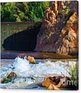 Leasburg Dam New Mexico Canvas Print
