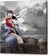 Leaving Bethlehem Canvas Print